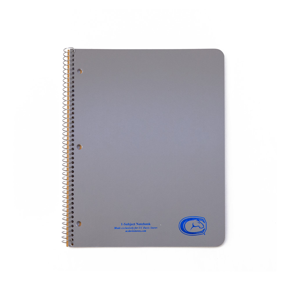 Image For Ampad® 1 Subject UC Davis Mascot notebook (orig. $3.49)
