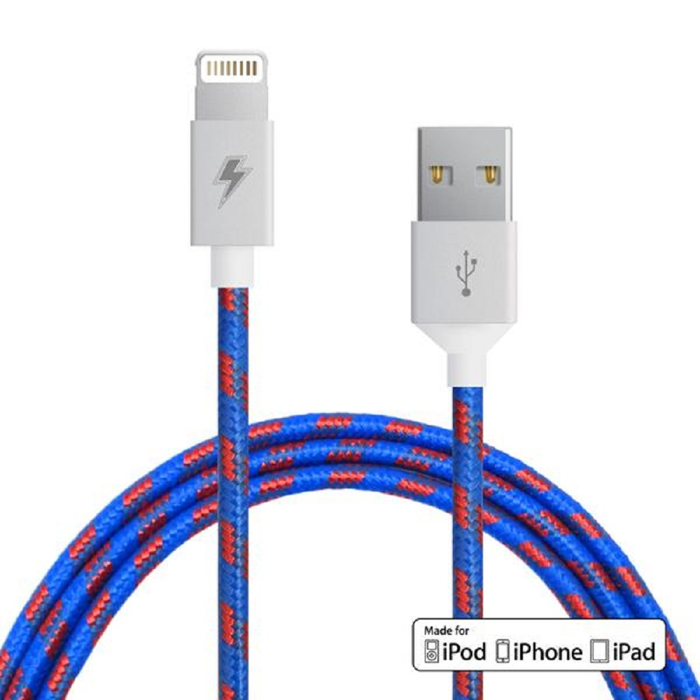 Image For ChargeCords Lightning Cable Varsity