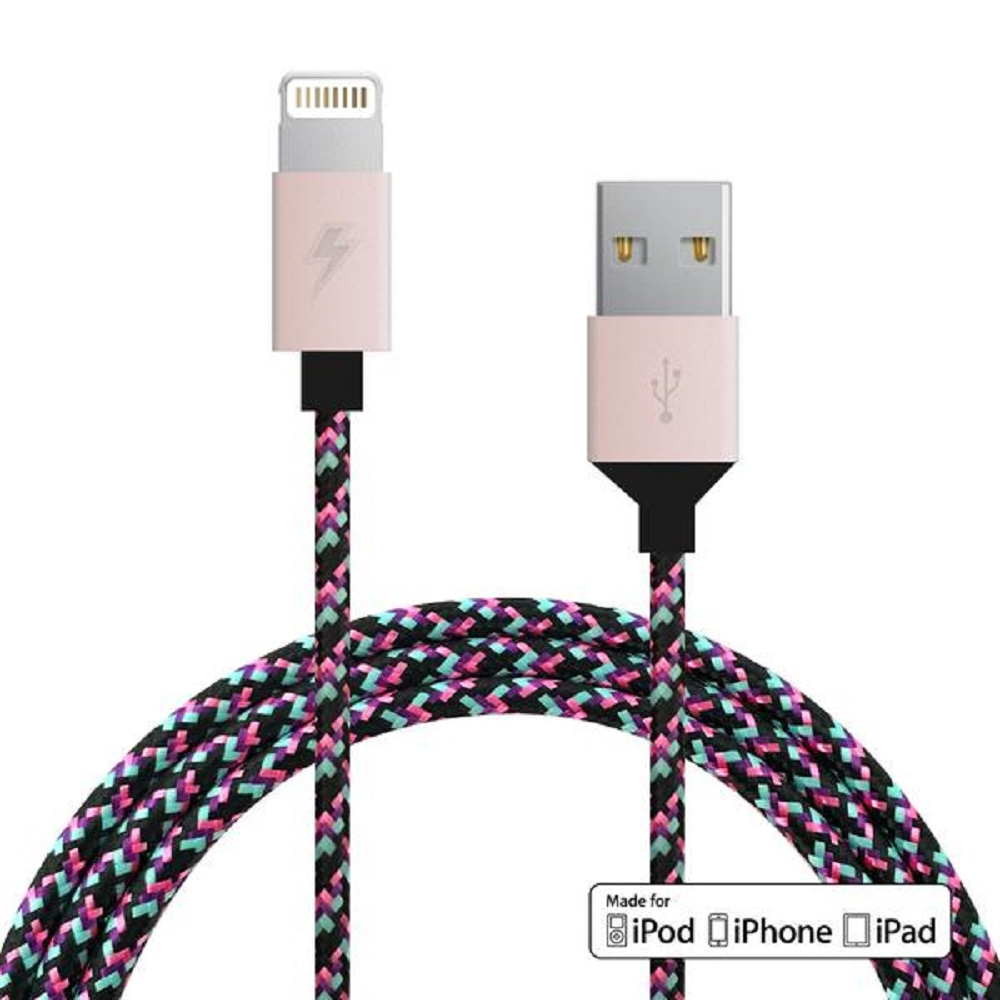 Image For ChargeCords Lightning Cable Black Lisa
