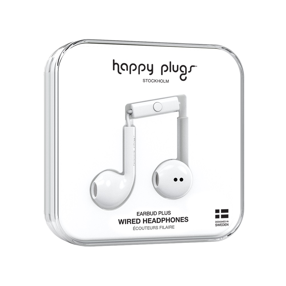 Image For Happy Plugs Earbuds Plus White