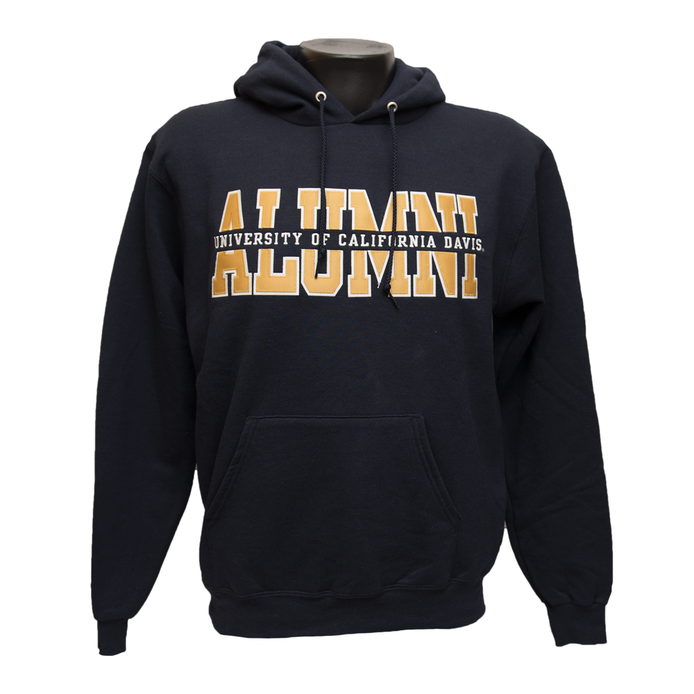 Image For Blue 84 UC Davis Alumni Hooded Sweatshirt Navy