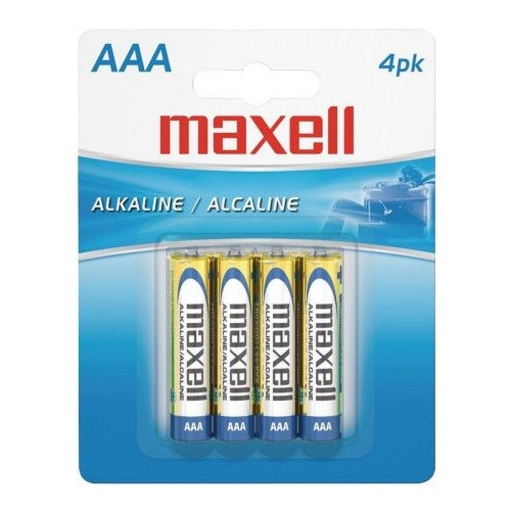 Image For Batteries Maxell 4pk AAA