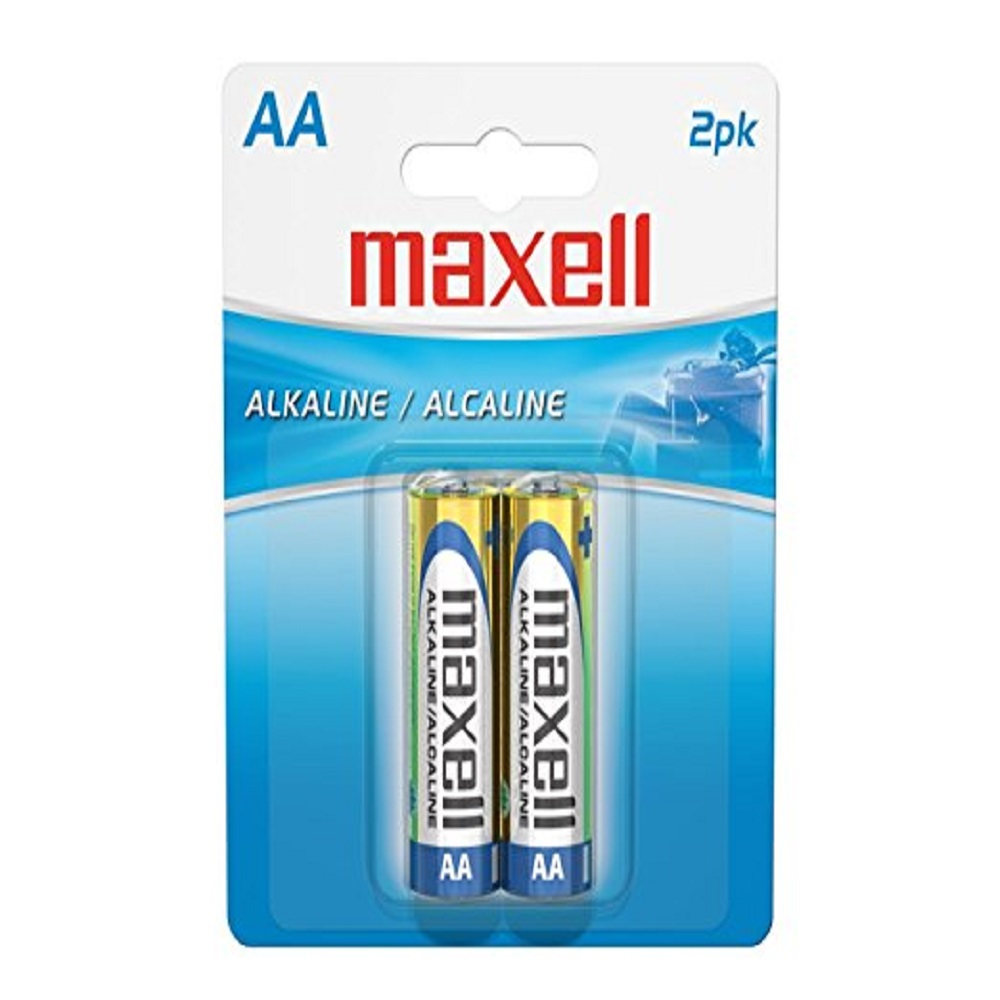 Image For Maxell 2PK AA Batteries