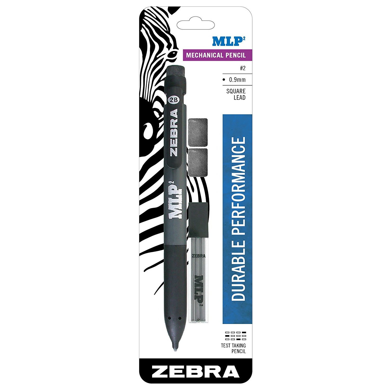 Image For Zebra MLP2 Square Lead Mechanical Pencil 0.9mm
