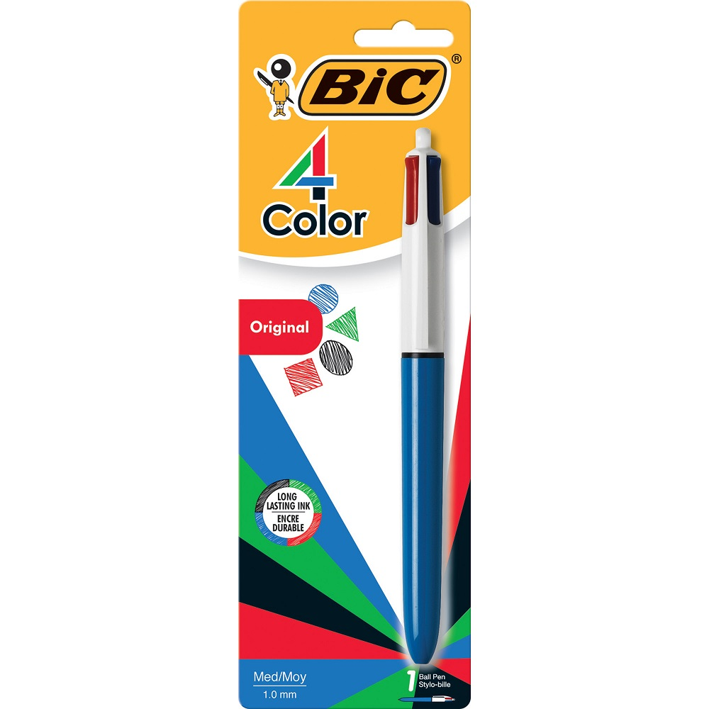 Image For BIC® 4-Color™ Individual Ball Pen, Medium Point