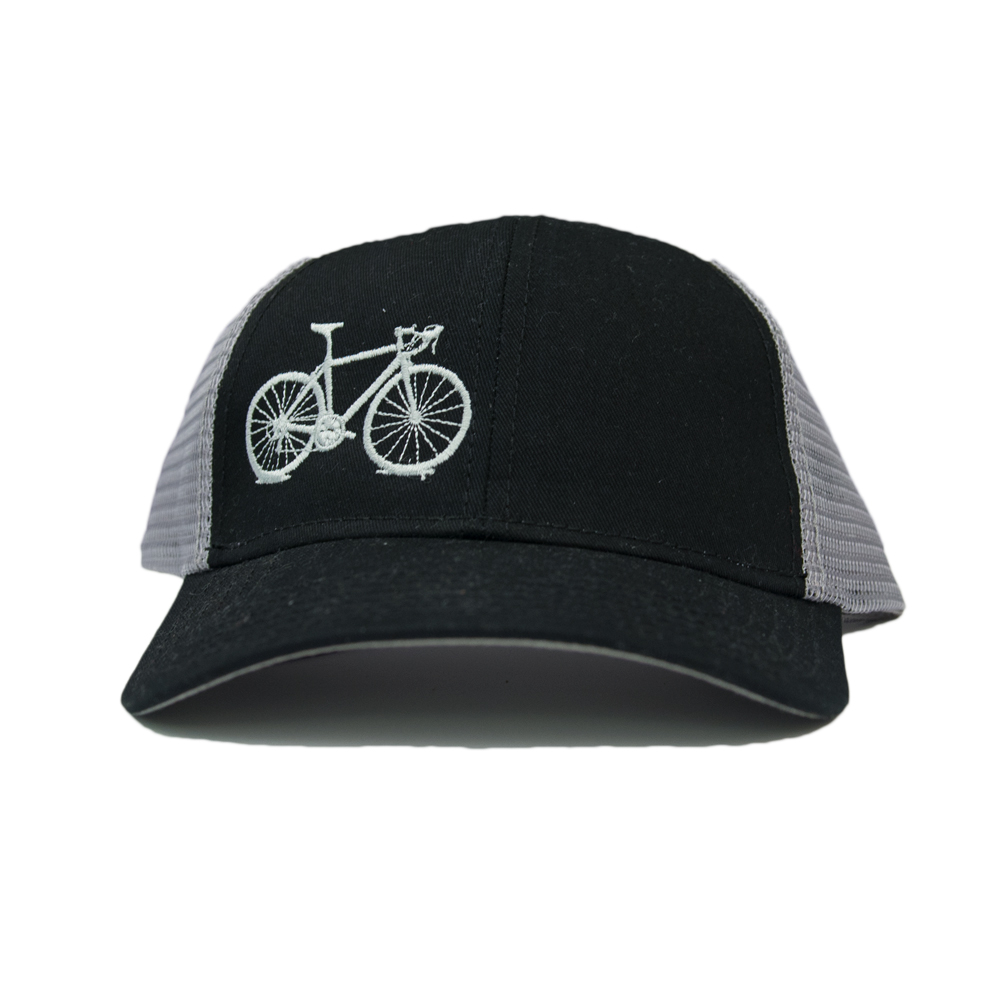 Cover Image For UC Davis Hat Trucker Black Bicycle