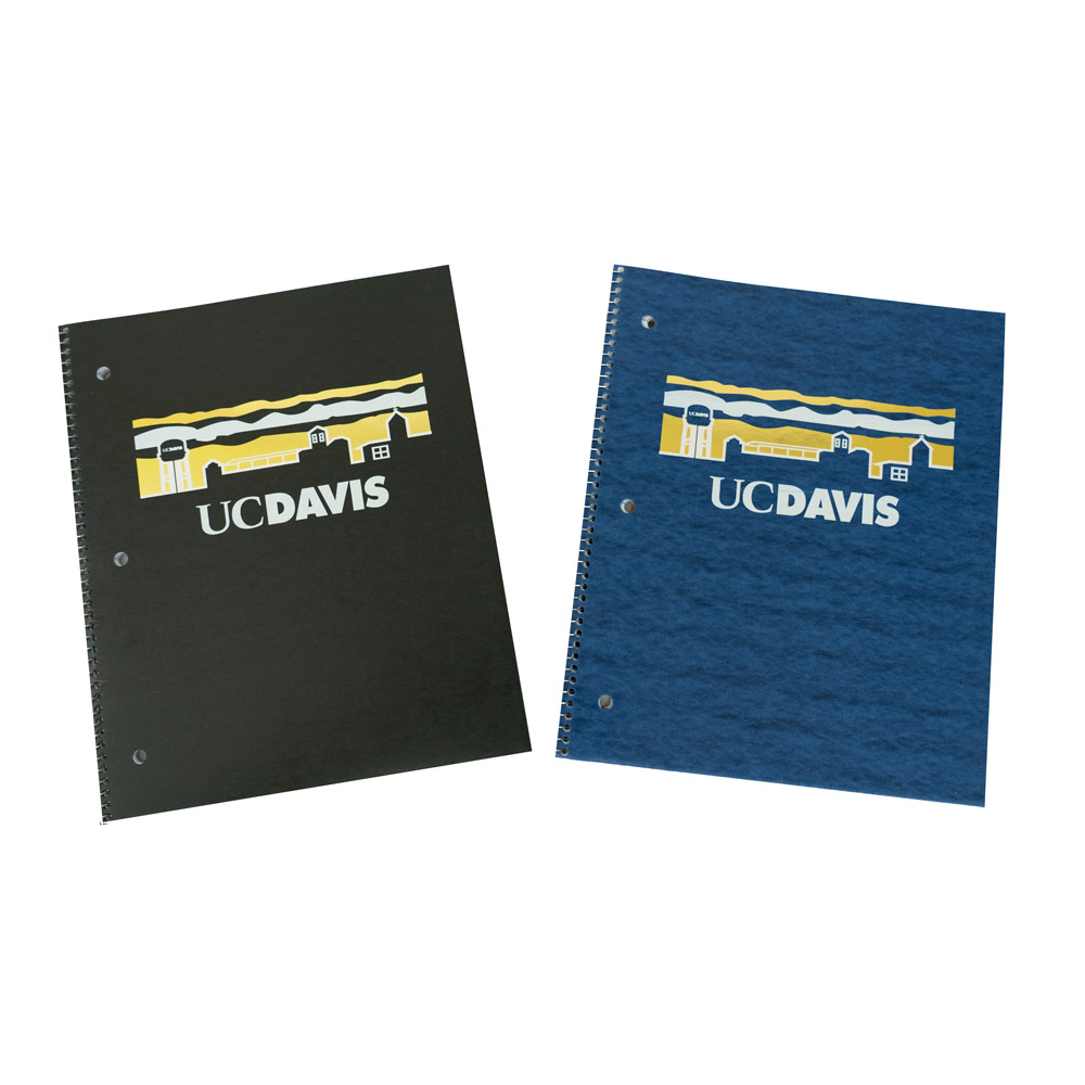 Image For Notebook Spiral Bound 1 Subject Ruled UCD Skyline