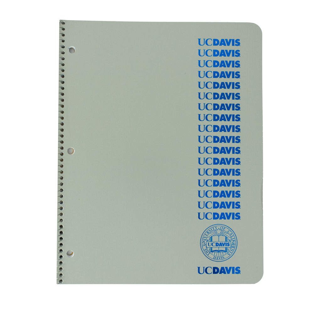 Image For Ampad® 1 Subject UC Davis notebook (orig. $3.49)