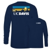 Cover Image for Blue 84 UC Davis Bike Hooded Shirt Heather Originally $58.99