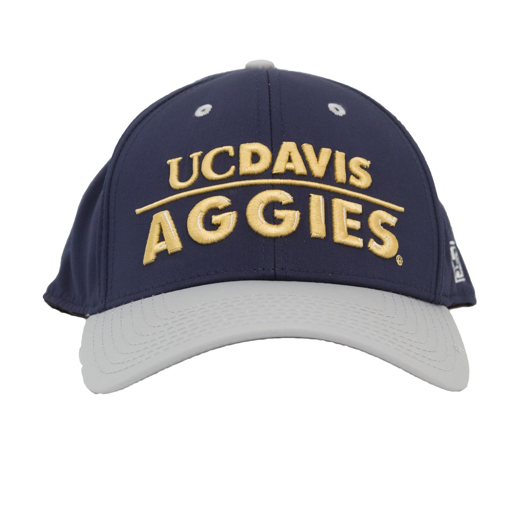 Cover Image For UC Davis Aggies Hat Navy/Gold