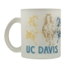 Cover Image for Mug UC Davis Frosted Glass