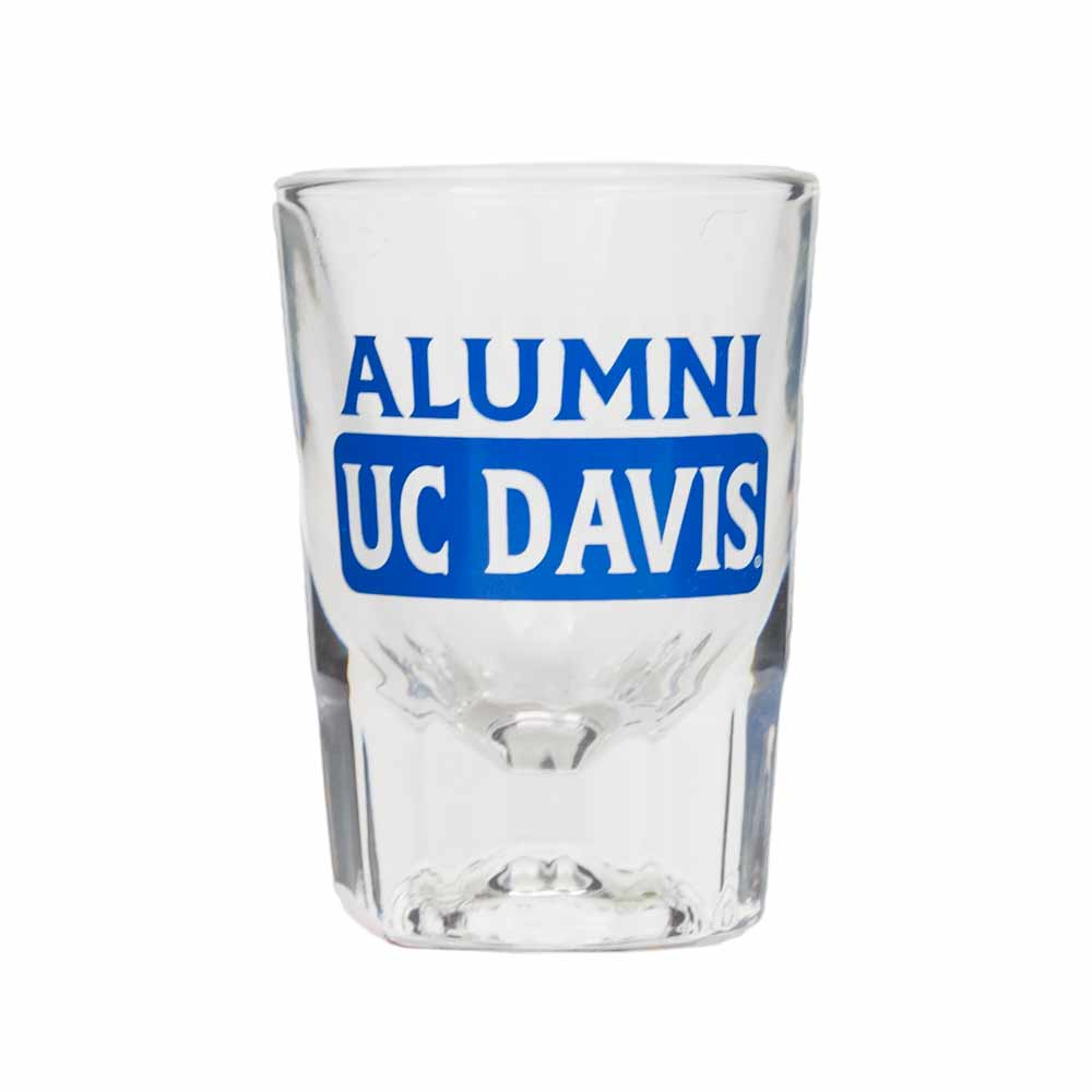 Cover Image For Shot Glass UC Davis Alumni