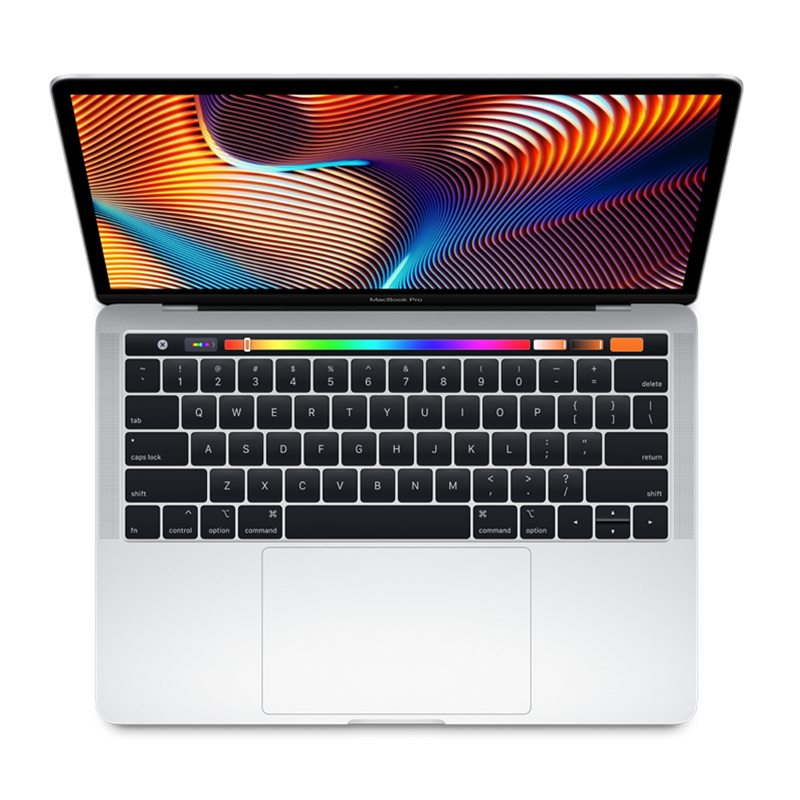 "Cover Image For 15"" Macbook Pro Touchbar Silver"