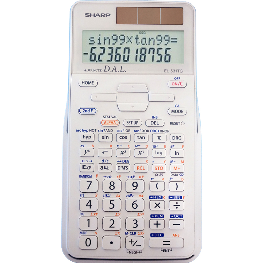 Image For Calculator Sharp EL-531TGBDW Scientific