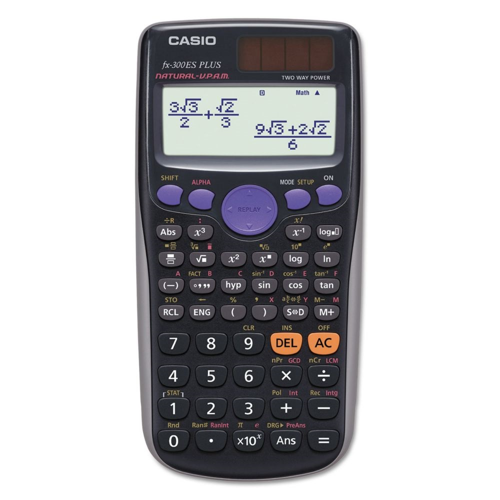 Image For Calculator Casio fx-300ES Plus Scientific