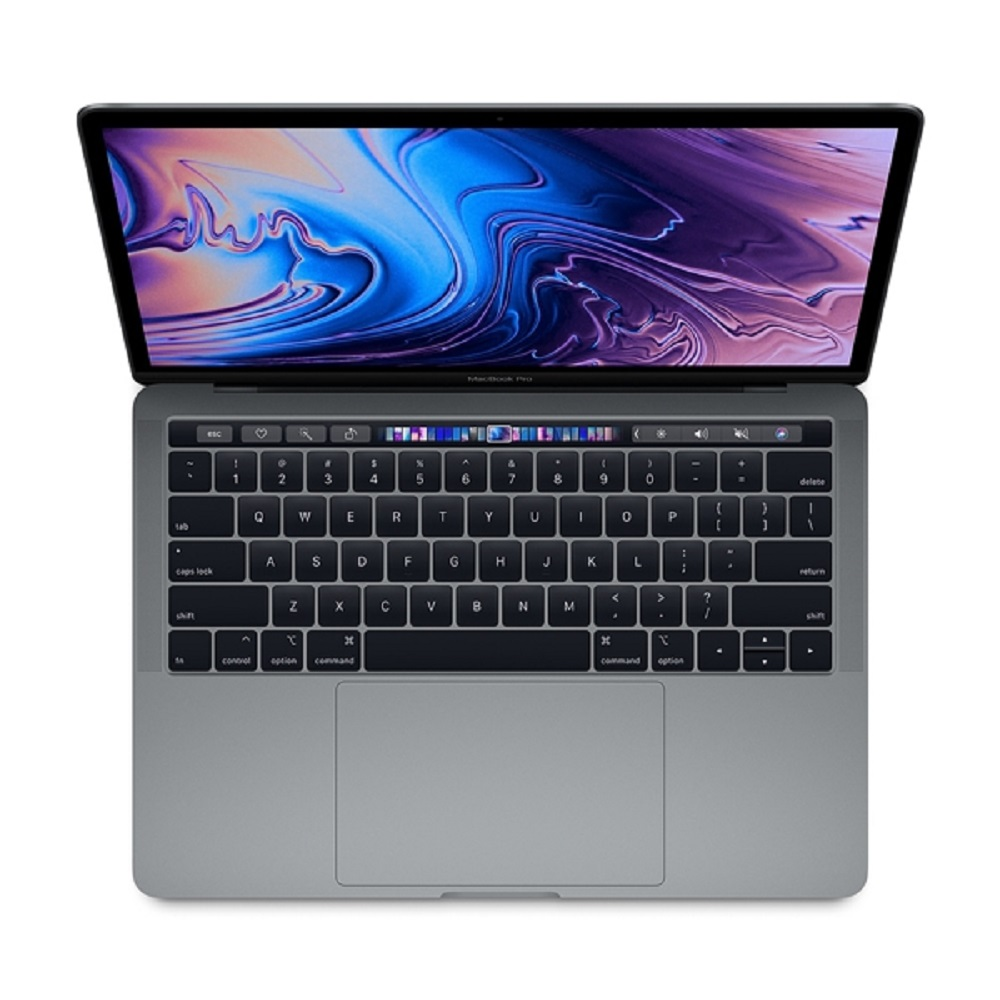 "Cover Image For 13"" Macbook Pro with Touch Bar Space Gray"