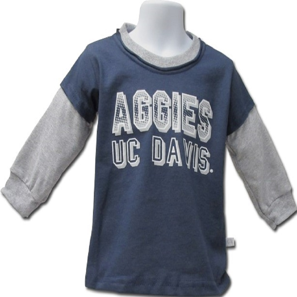 Cover Image For ThirdStreet® Unisex UC Davis Aggies Sweatshirt