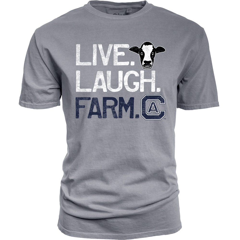 Cover Image For Blue 84 Live Laugh Farm Cal Aggie T-Shirt