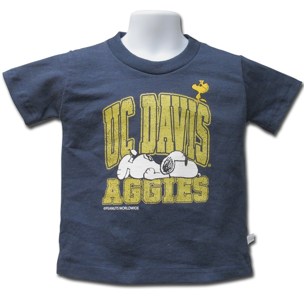 "Cover Image For ThirdStreet® ""Snoopy and Woodstock"" UC Davis Aggies T-Shirt"