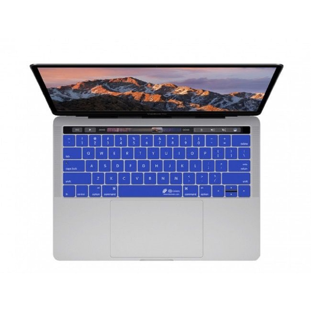 "Image For KB Covers Blue MBP 13/15"" w/TouchBar"