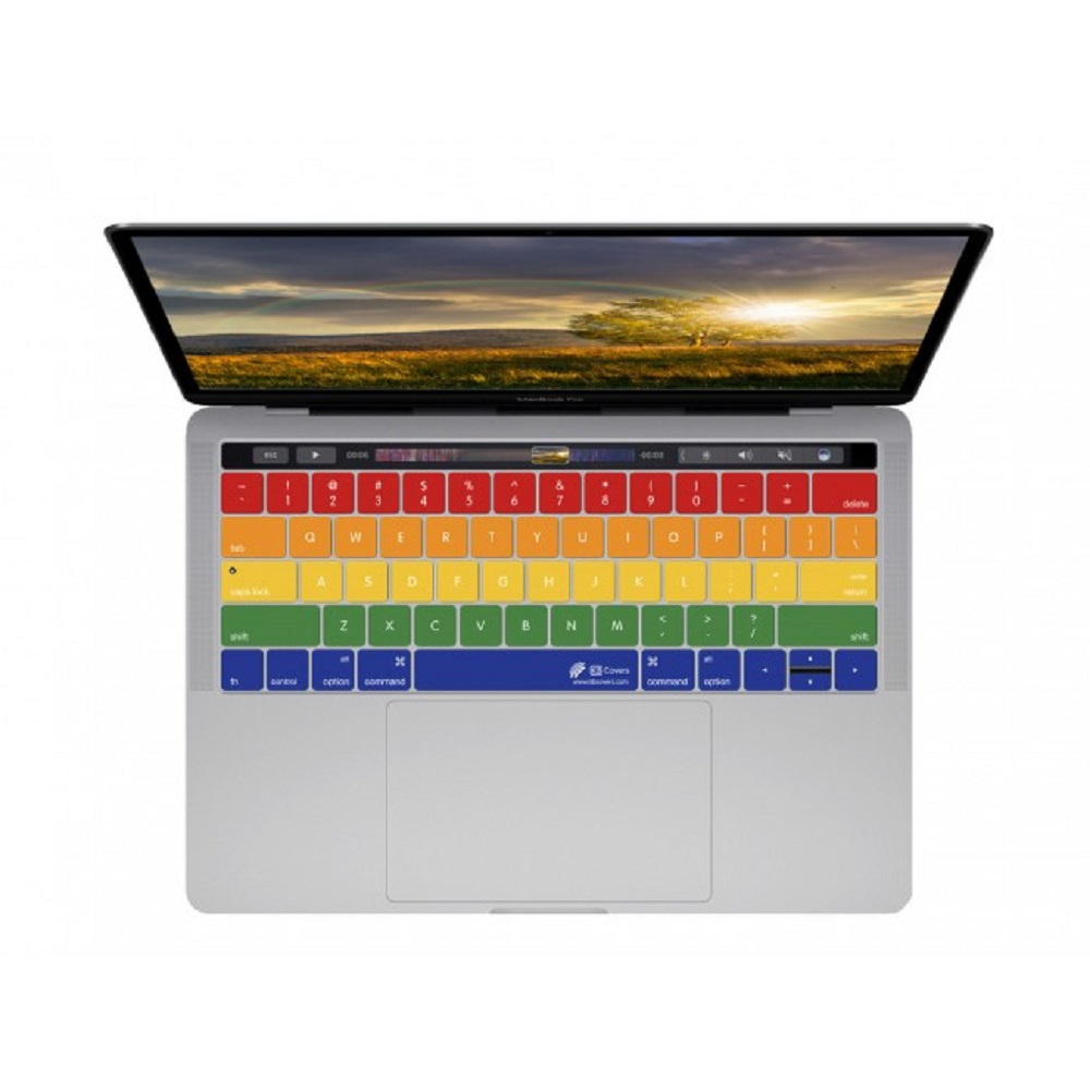 "Cover Image For KB Covers Rainbow 13/15"" MBP w/TouchBar"