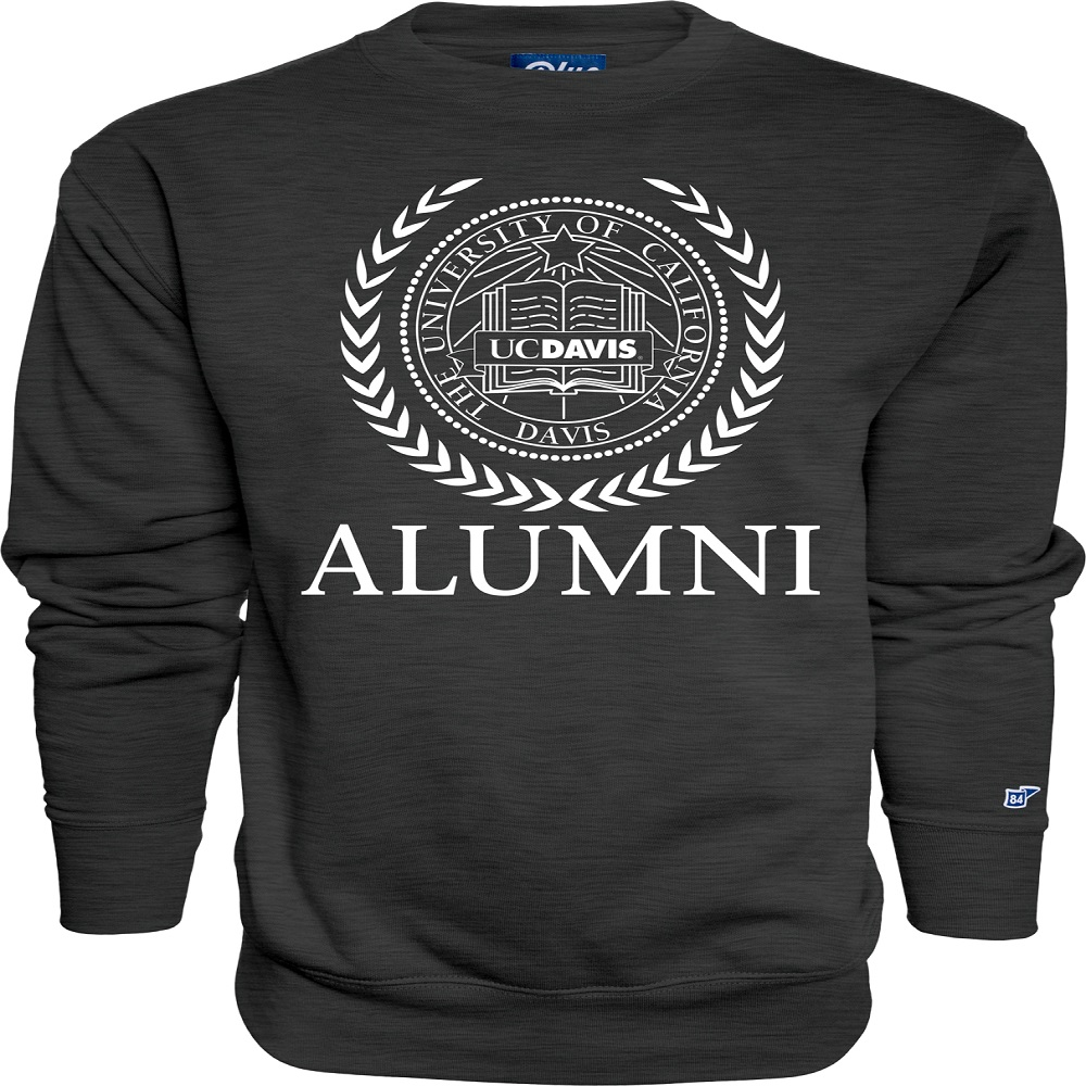 Cover Image For Blue 84 UC Davis Seal Alumni Crew Neck Sweatshirt