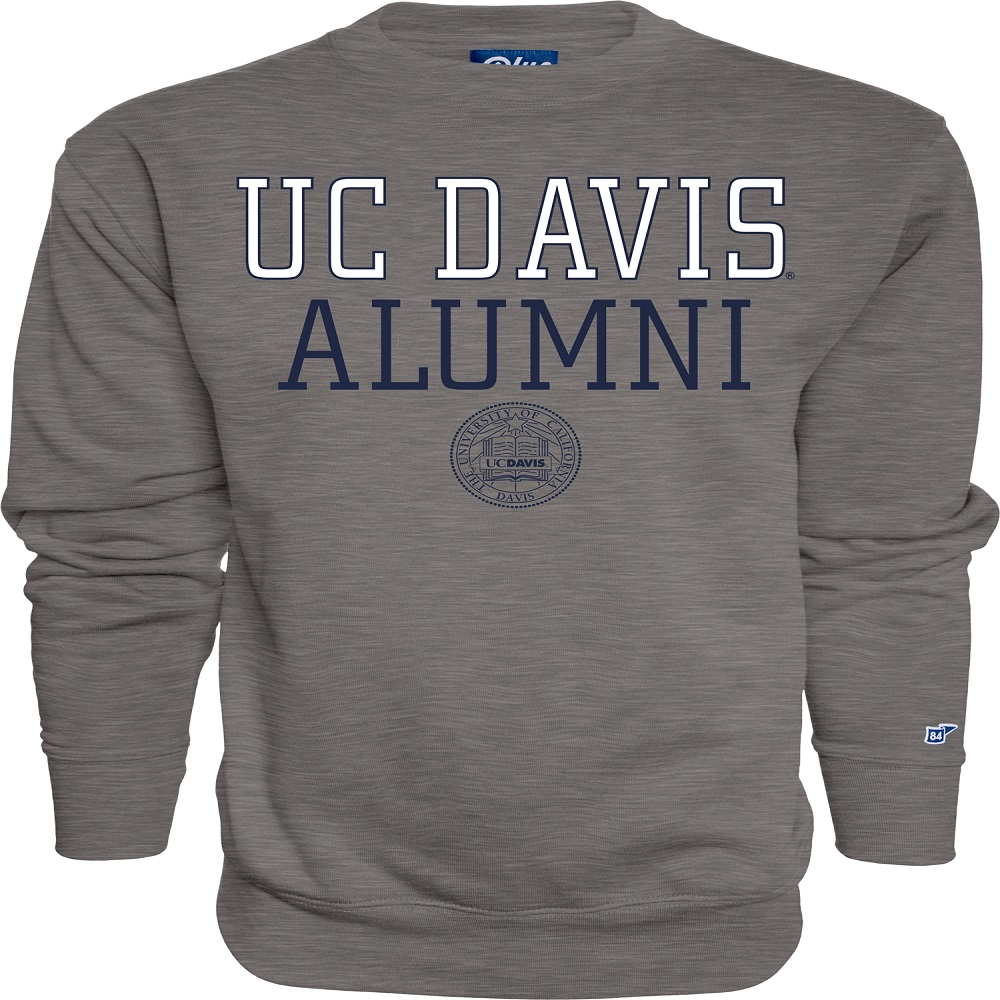 Image For Blue 84 UC Davis Alumni Crew Neck Sweatshirt