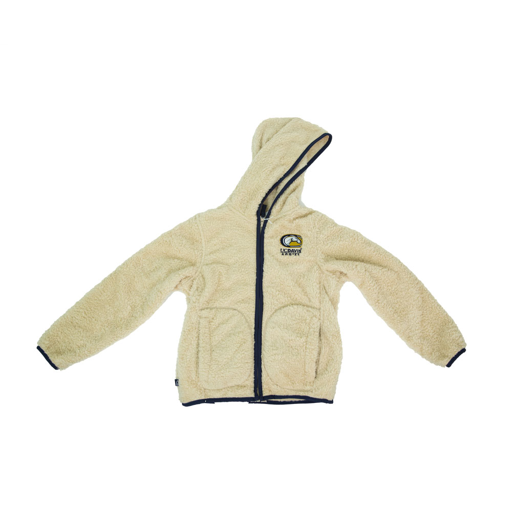 Cover Image For Garb® Team UC Davis C-Horse Girls Fleece Jacket