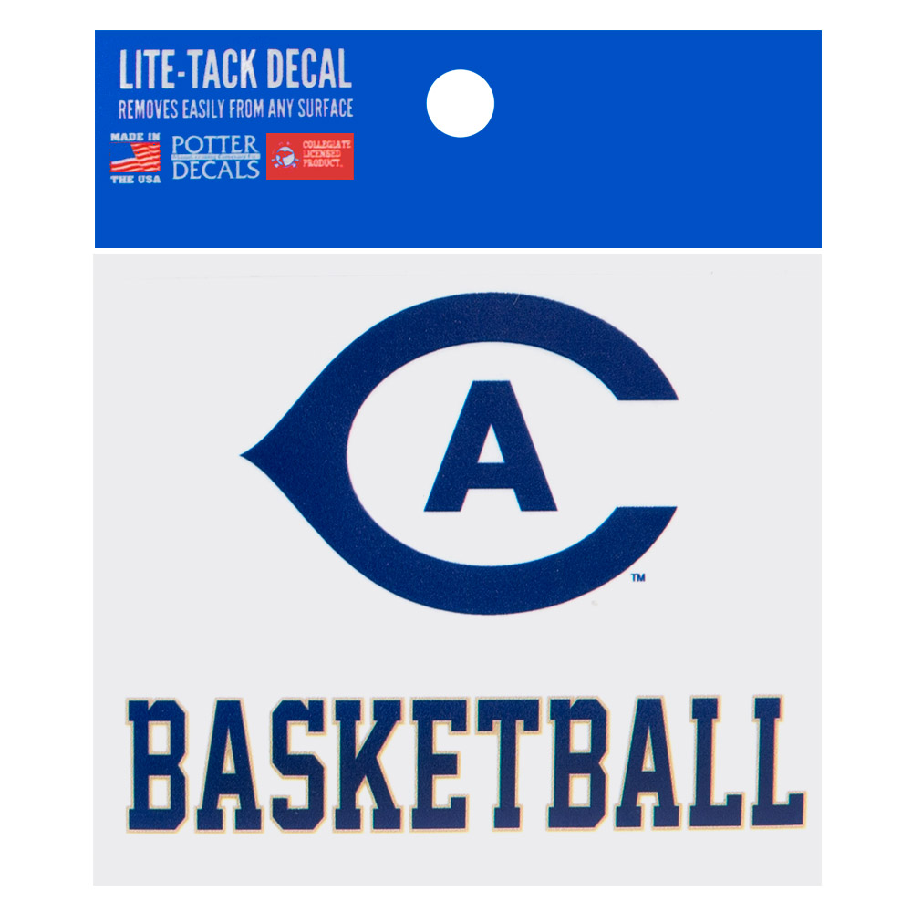 Image For UC Davis Cal Aggie Basketball Decal