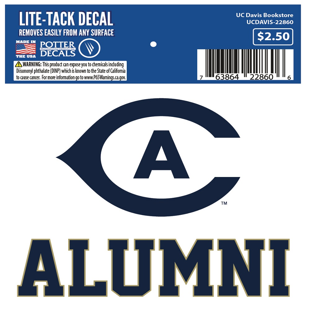 Image For UC Davis Alumni Decal