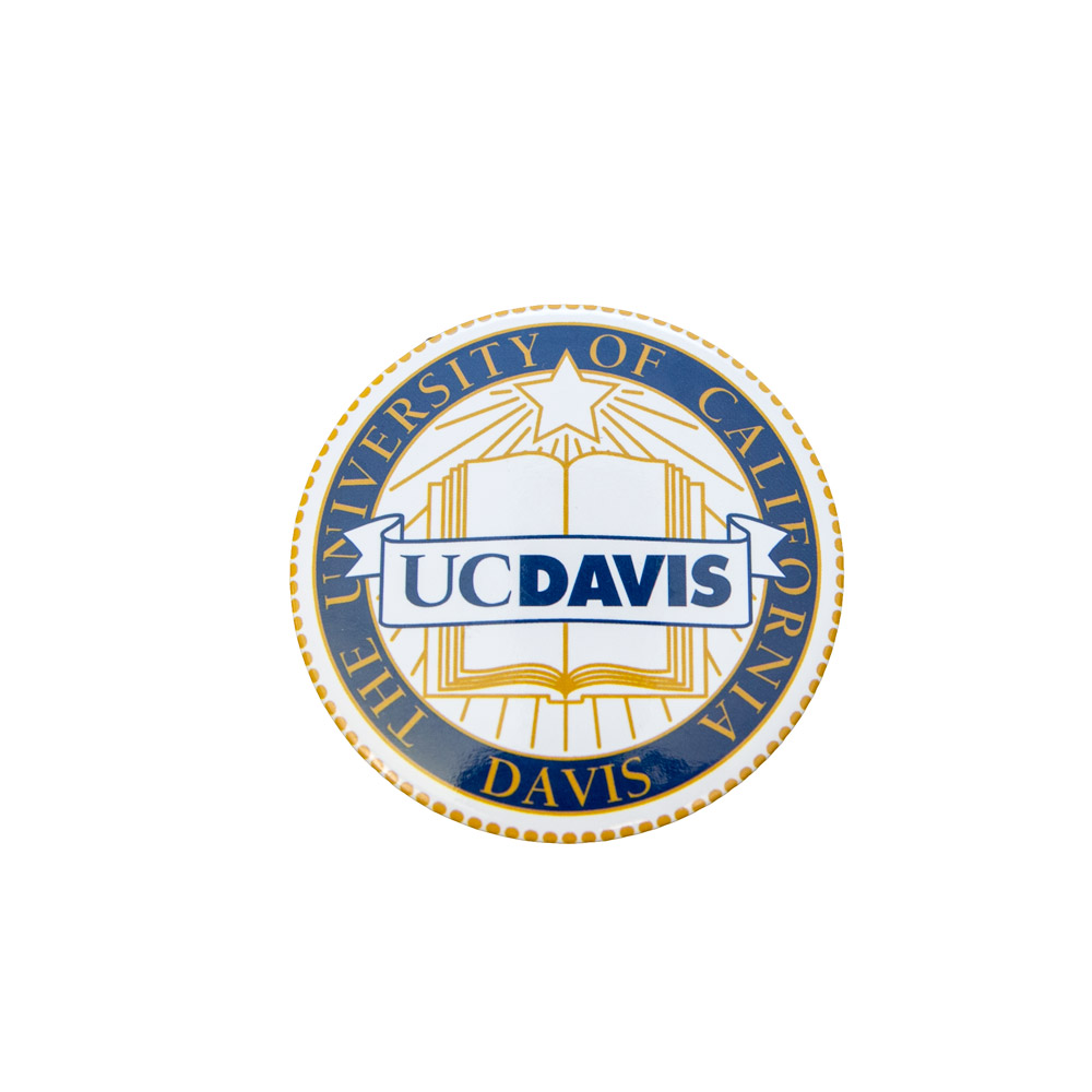 Image For UC Davis Faux Seal Magnet