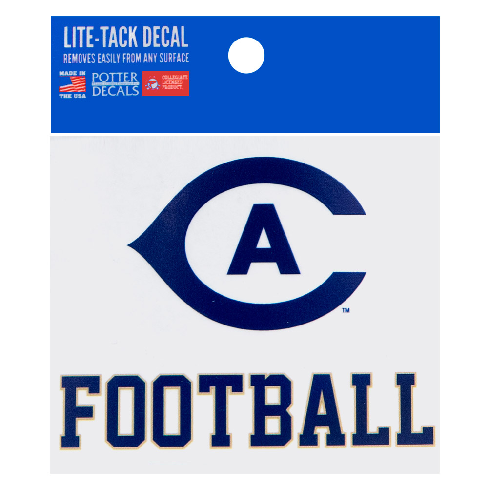 Image For UC Davis Cal Aggie Football Decal