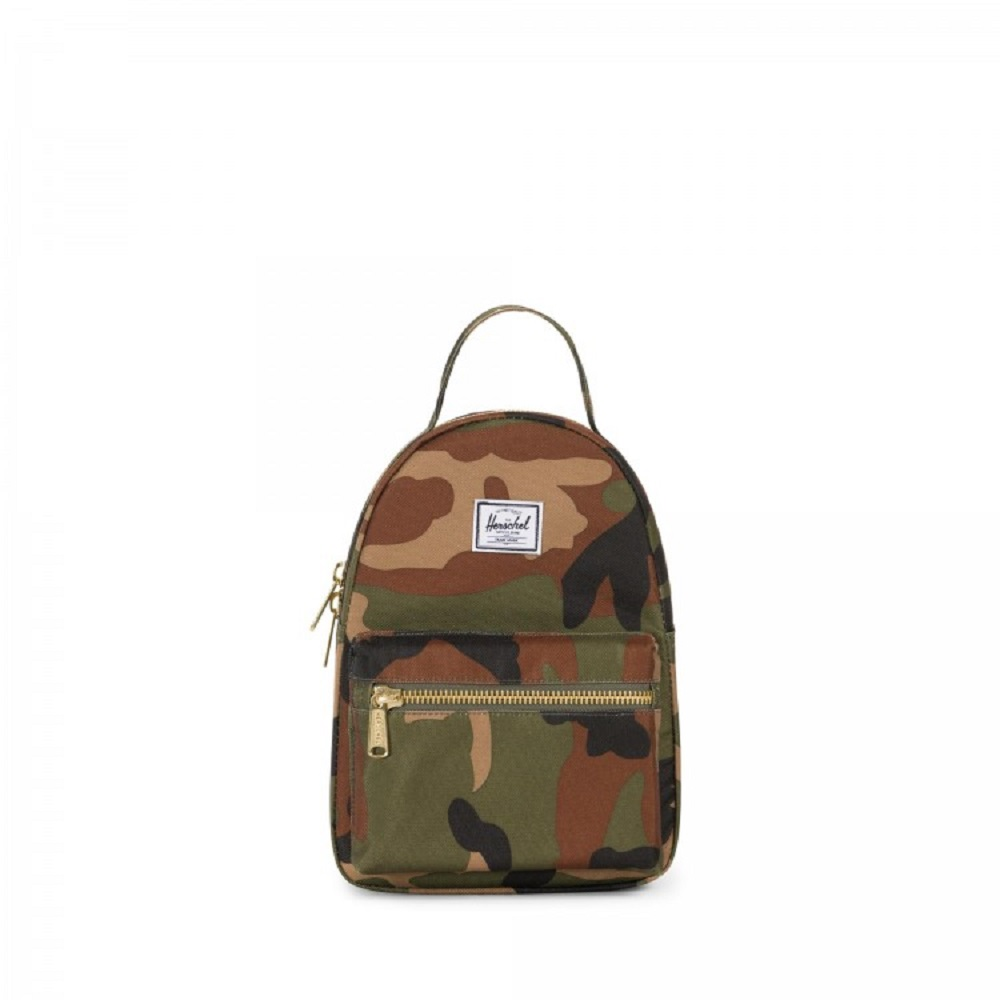 Cover Image For Herschel Supply Co. Mini Nova Backpack Woodland Camo
