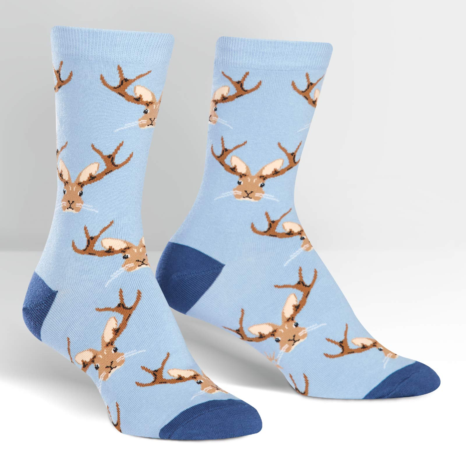 Image For Sock It To Me Jackalope Women's Crew Sock