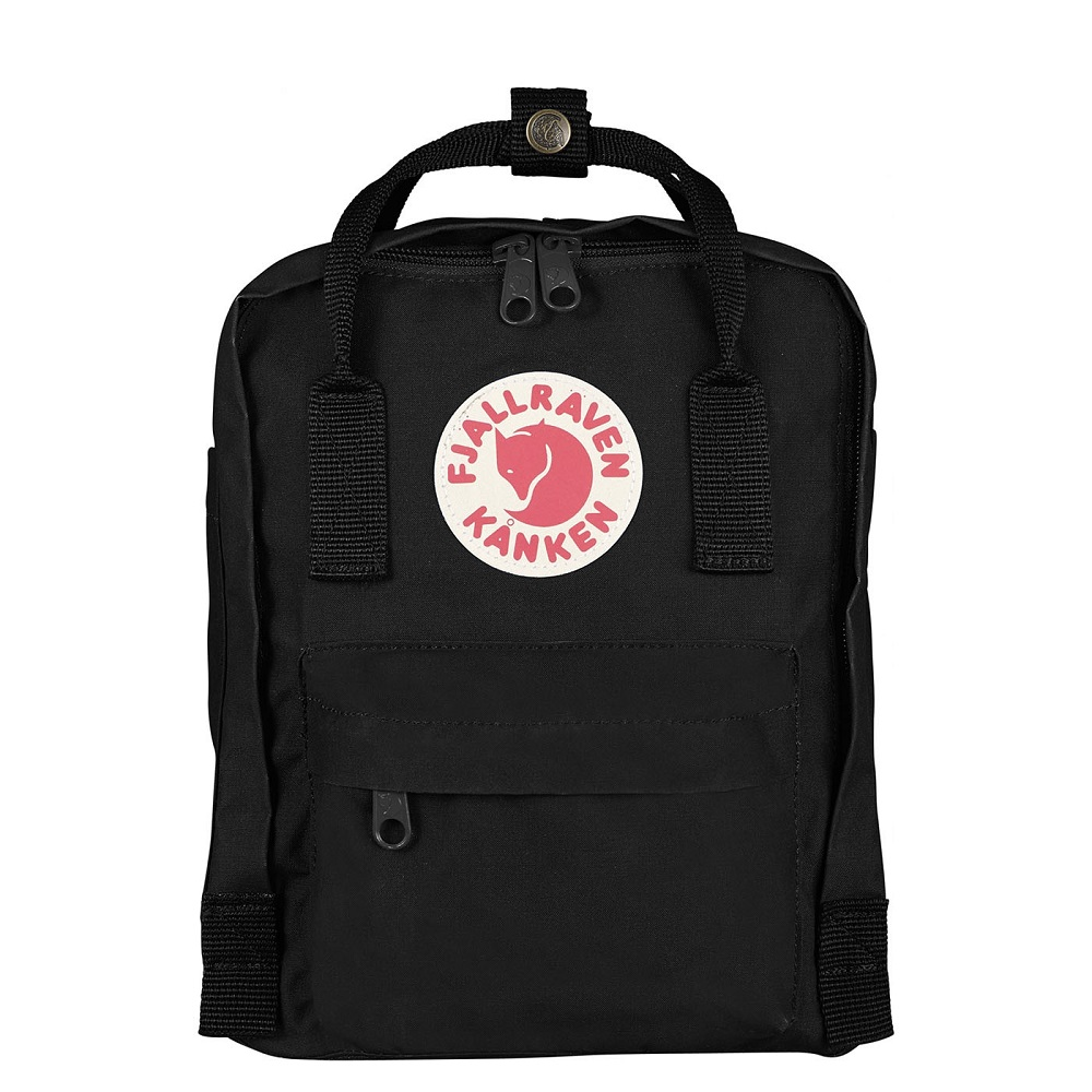 0366f443d79 Fjallraven Kanken Mini Backpack Black