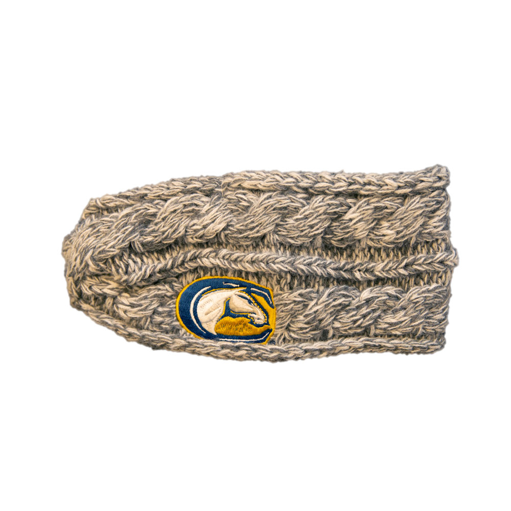 Cover Image For Zooztaz  Women's UCD Mascot Cable Knit Headband