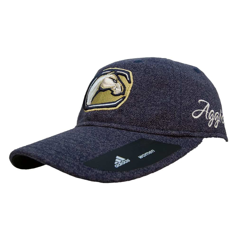 Cover Image For Adidas UCDavis Mascot Womens Slouch Hat Adjustable