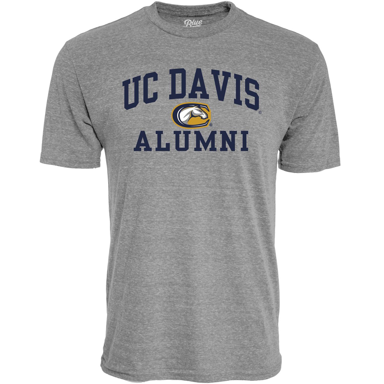 08cc6b4a841d Blue 84 UC Davis Alumni Men s T-Shirt Heather