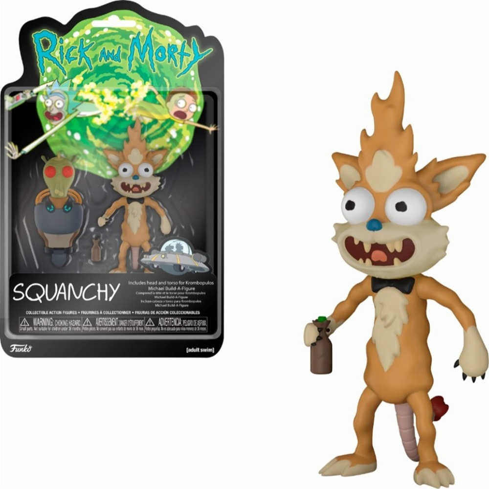 "Cover Image For Funko ""Rick and Morty"" Squanchy"