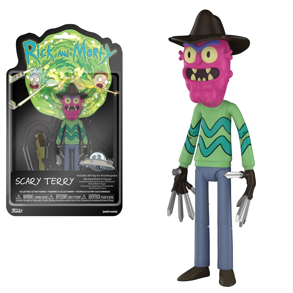 "Cover Image For Funko ""Rick and Morty"" Scary Terry"