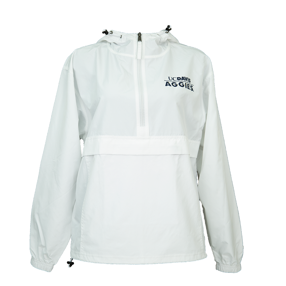Image For Champion® Pack and Go UC Davis Aggies Jacket White
