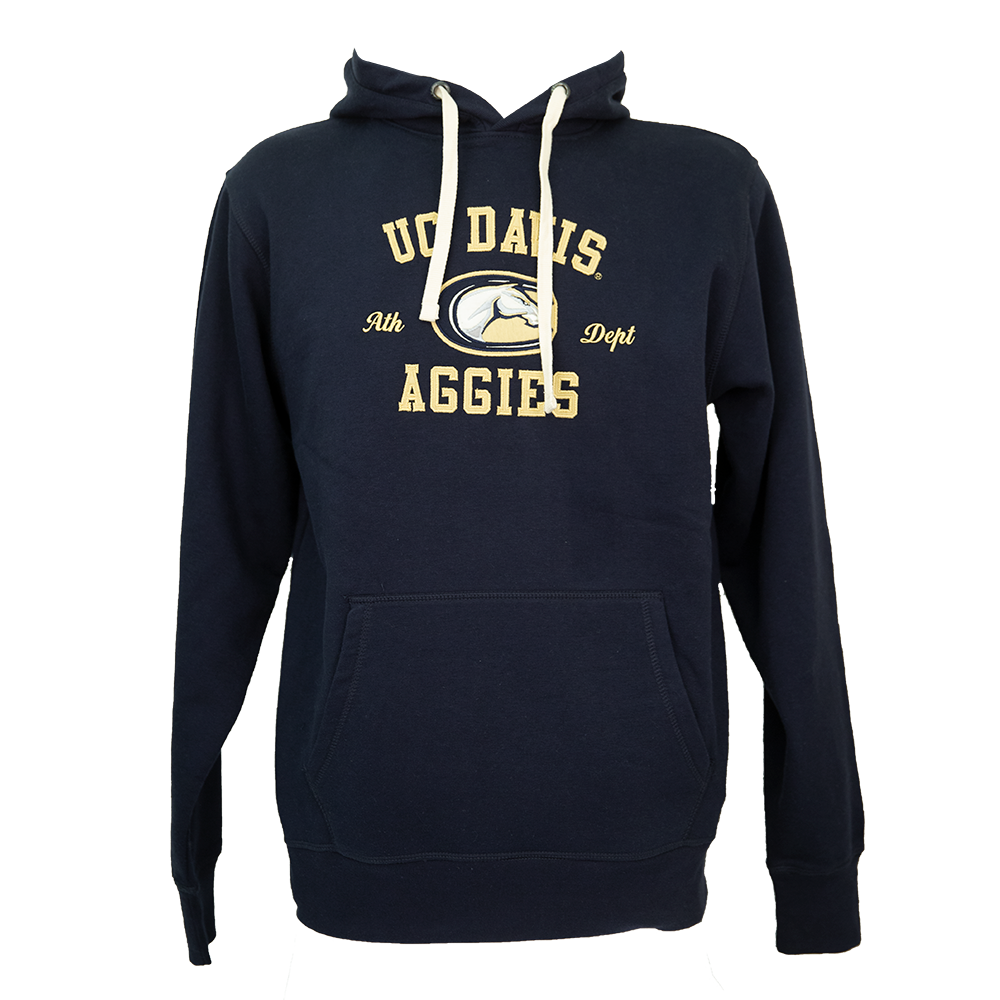 Image For League91 UC Davis Athletic Department Hooded Sweatshirt Navy