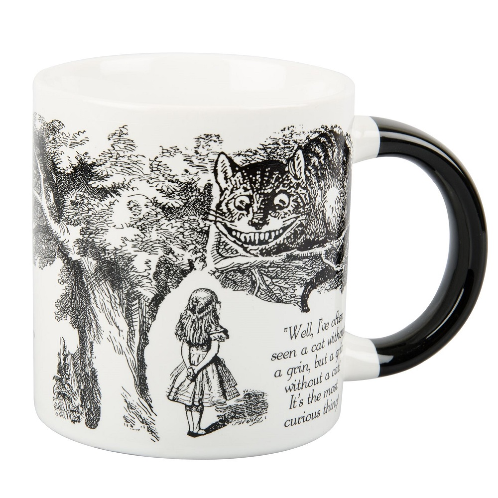 Image For Coffee Mug The Disappearing Cheshire Cat