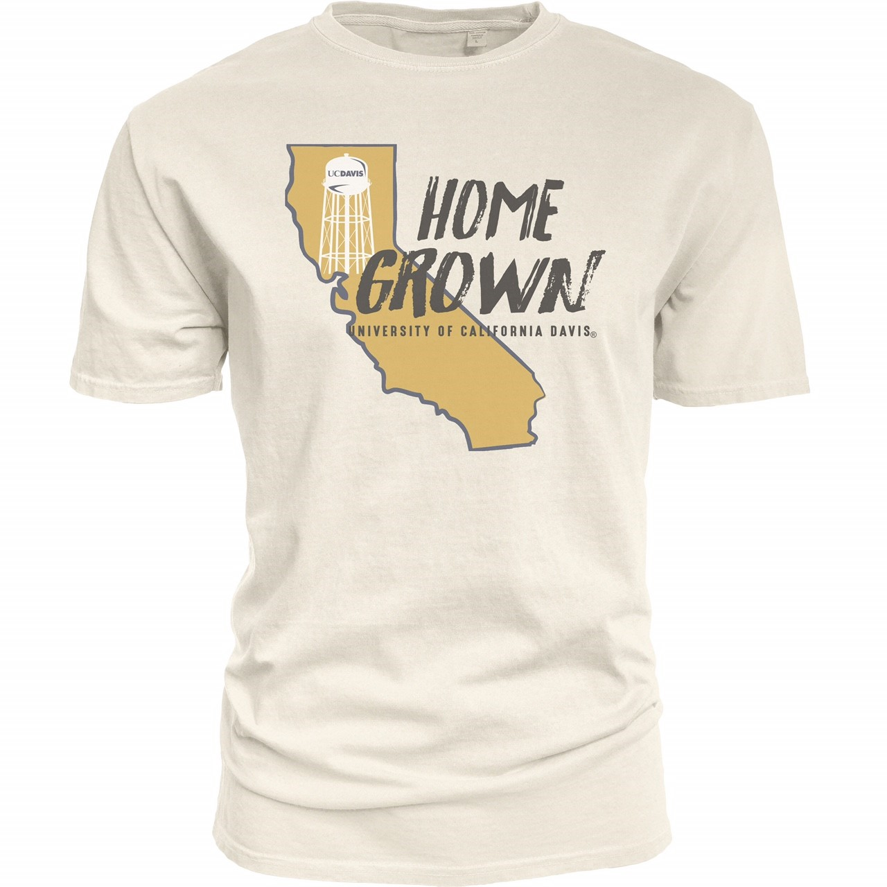 Cover Image For Blue 84 UC Davis Home Grown T-Shirt White