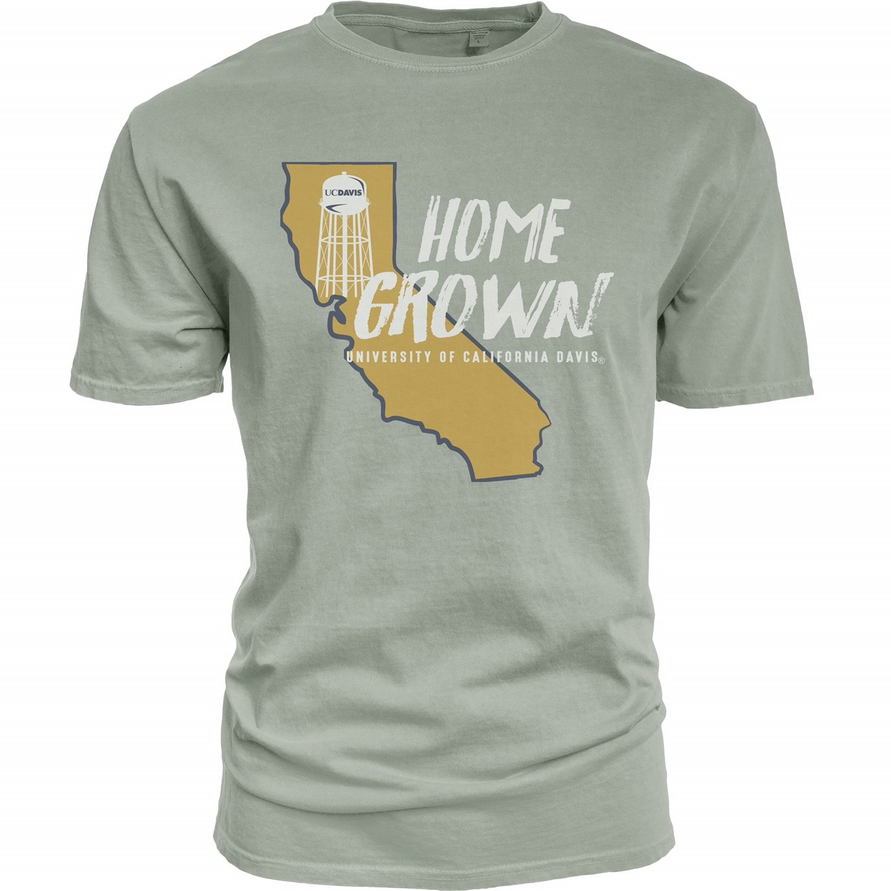 Cover Image For Blue 84 UC Davis Home Grown T-Shirt Jade