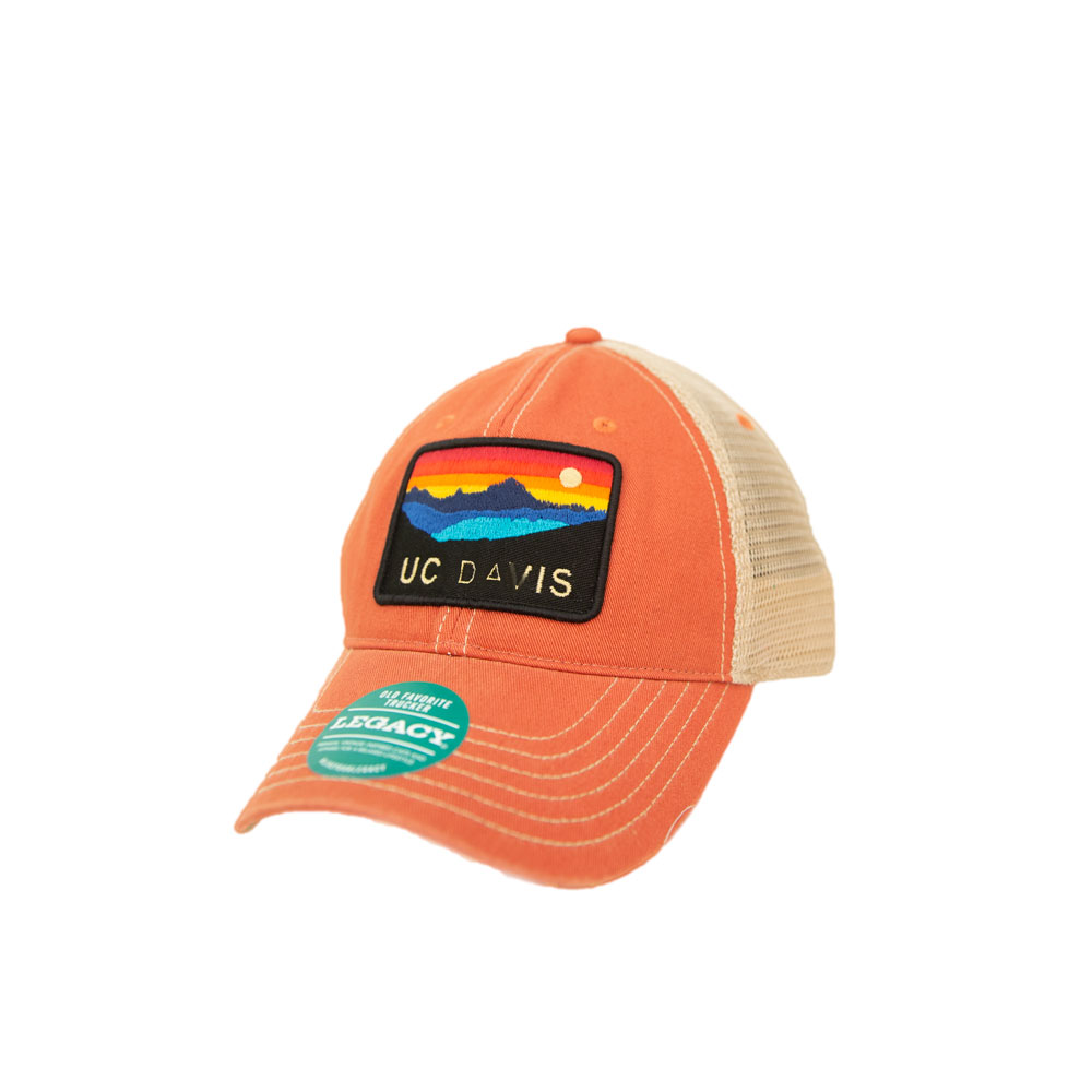 cd021a0eb8238 Image For Legacy92 UC Davis Trucker Hat With Colored Patch Nantucket