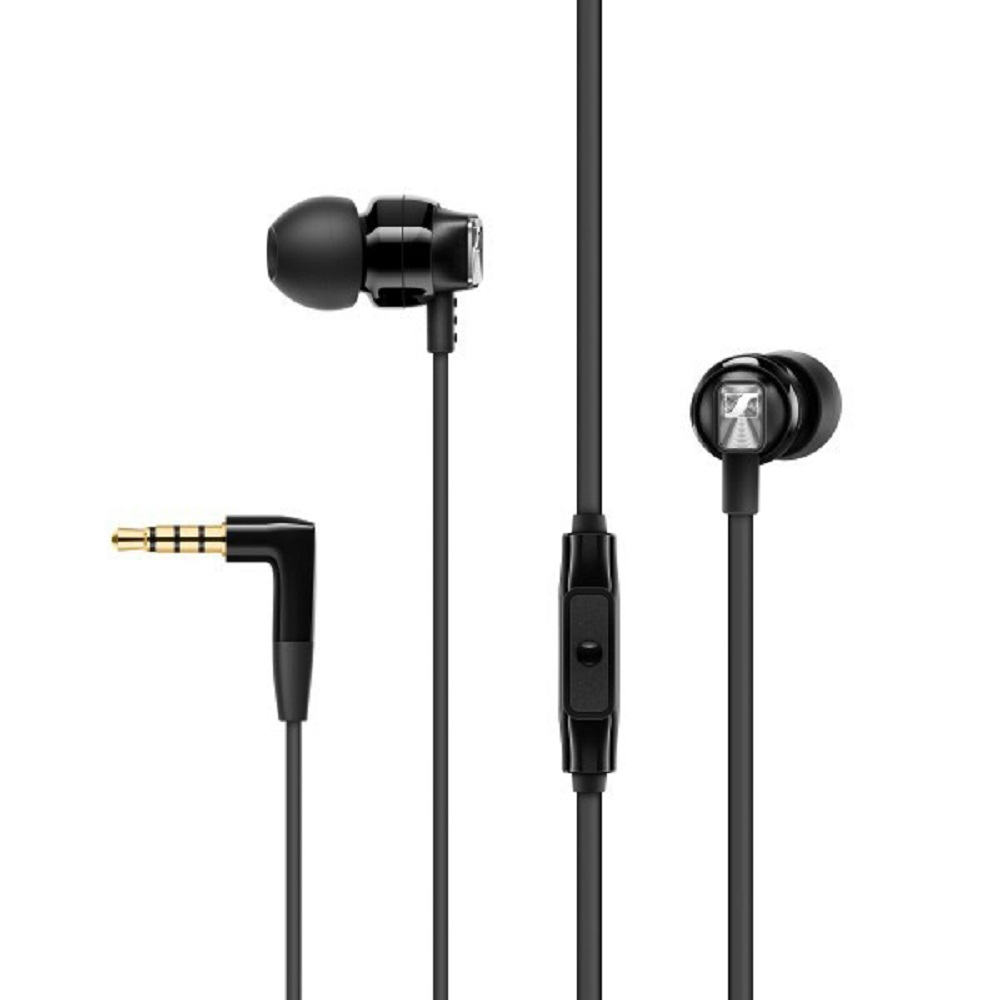 Cover Image For Sennheiser CX 300s Earbud Headphones Black