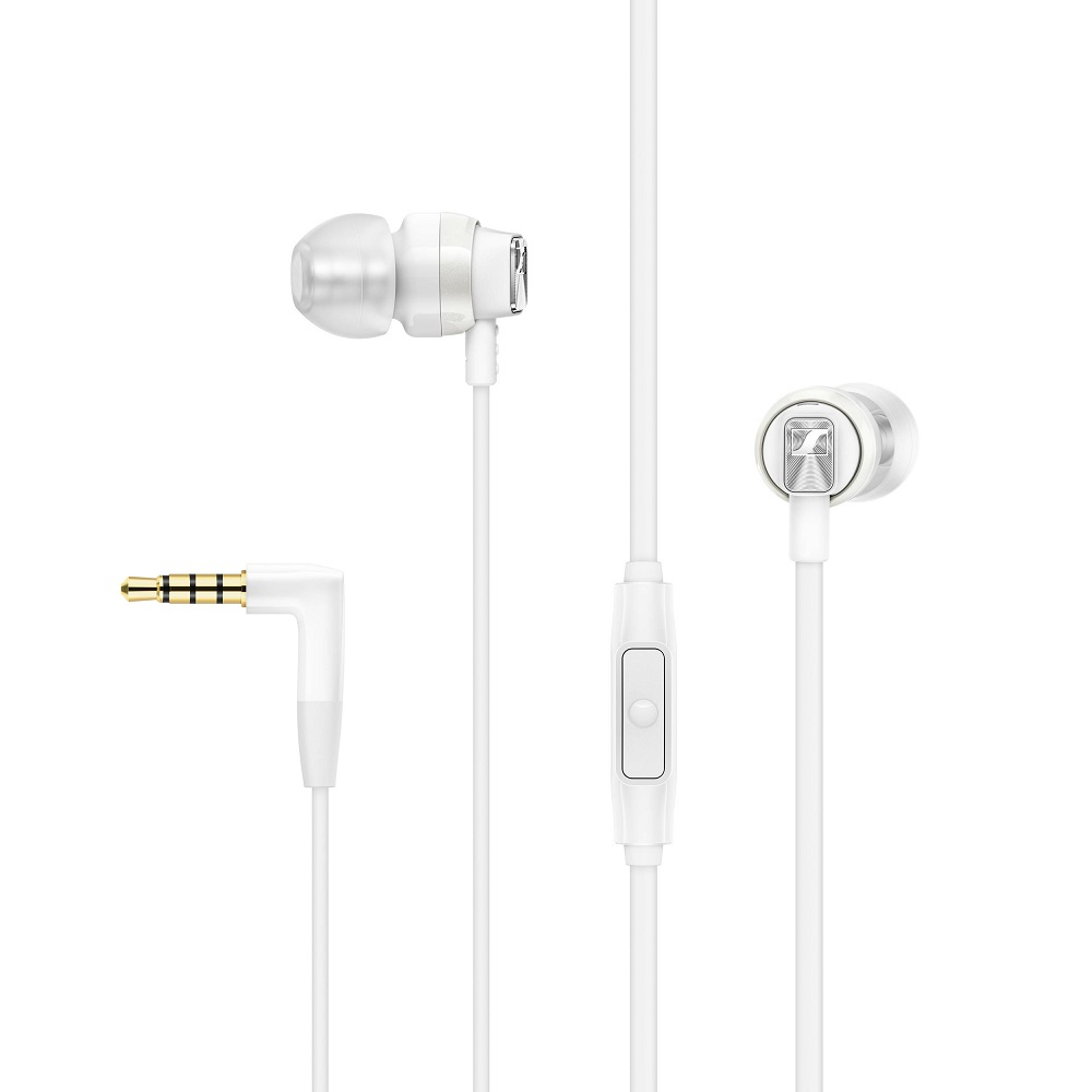 Cover Image For Sennheiser CX 300s Earbud Headphones White