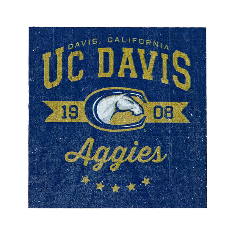 Image For Legacy® UC Davis Aggie Mascot Wood Block