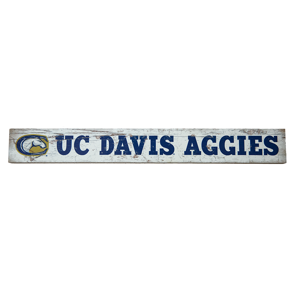 "Image For Leagacy® UC Davis Aggies Table Top Sign 2.5""x20"""